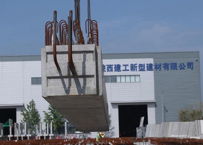 工业厂房叠合梁